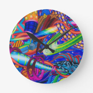 From the Ocean to the Stars Wallclock