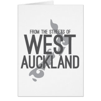 From the Streets of West Auckland Card