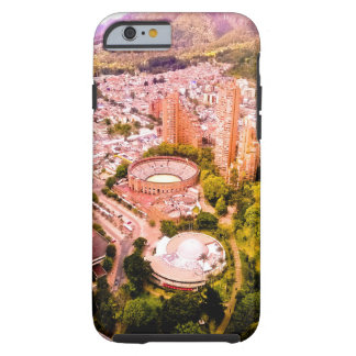 From the top of the building. tough iPhone 6 case