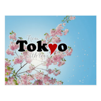 From Tokyo with Love Postcard