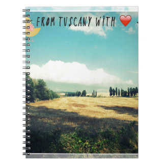 From Tuscany With Love Notebooks