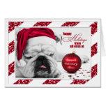 from Veterinary Office Christmas Bulldog Santa Hat