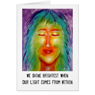 """""""From Within"""" Art & Quote Card"""