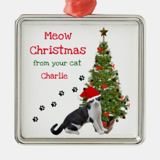 From Your Cat Christmas Ornament