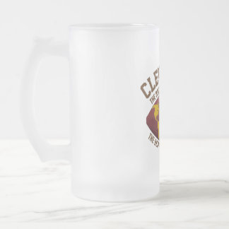From your lips to God's ears Frosted Glass Beer Mug