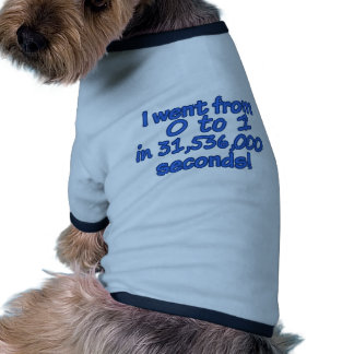From Zero To One In Seconds Pet Clothing