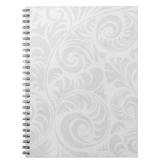 Fronds Notebook in Grey
