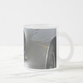 Front bumper view of a classic corvette coffee mug