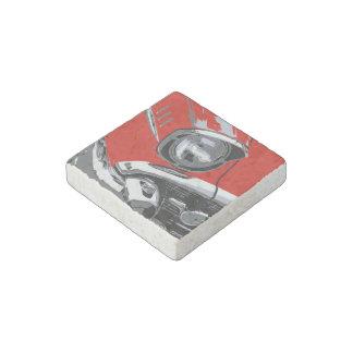 Front car color stone magnet