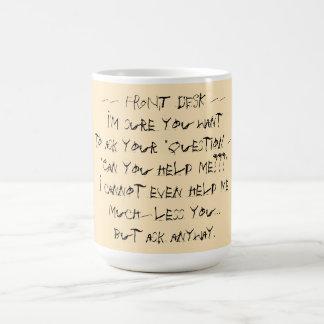 Front Desk mug