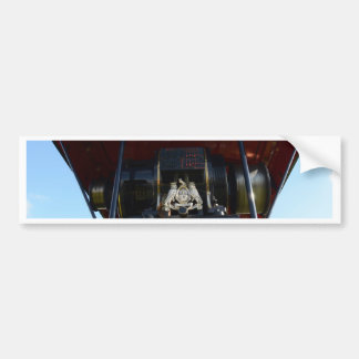 Front Detail Traction Engine Bumper Stickers