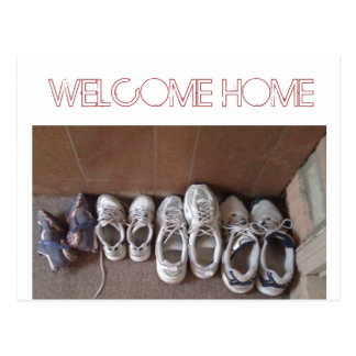Front Door - Welcome Home Postcard