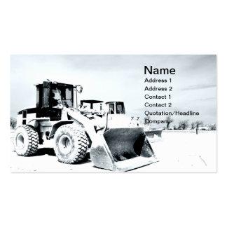 front end loader business cards