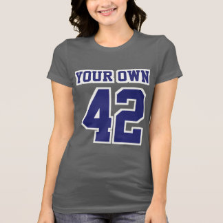 Front GRAY NAVY WHITE Bella Favorite Cotton Jersey T-Shirt
