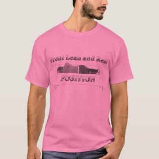 Front Lean and Rest Men T-Shirt