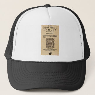 Front Piece to the Hamlet Quarto (1605 version) Trucker Hat