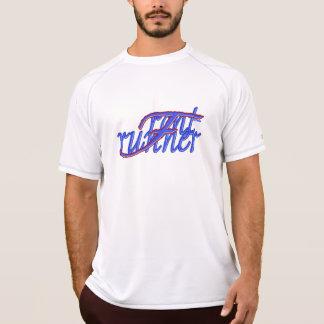 """""""Front Runner"""" Men's T-Shirt, White Tshirt"""