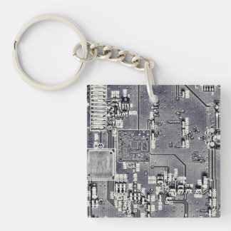 Front Side Bus Ride Key Ring