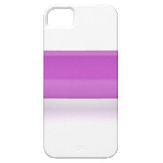Front view of pink dumbbell barely there iPhone 5 case