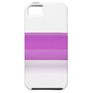 Front view of pink dumbbell iPhone 5 cover