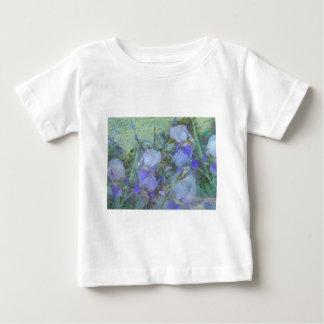 Front Yard Irises Baby T-Shirt