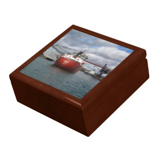 Frontenac & Saginaw at Essar Algoma keepsake box