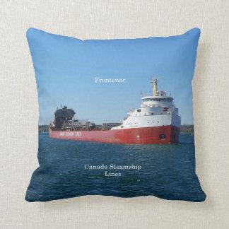 Frontenac square pillow