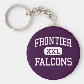 Frontier - Falcons - Junior - Graham Washington Basic Round Button Key Ring