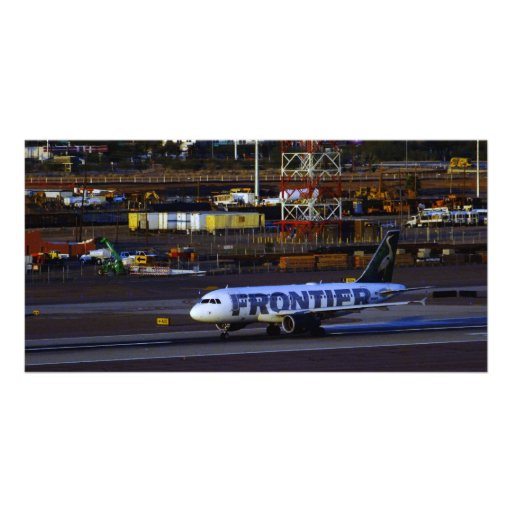 Frontier Photo Greeting Card