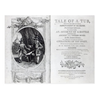 Frontispiece and Titlepage to 'A Tale of a Postcard
