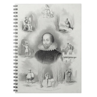 Frontispiece for the 'Histories', from 'The Comple Spiral Notebook