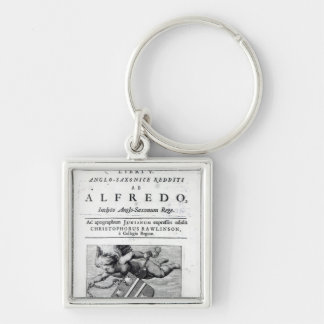 Frontispiece to Christopher Rawlinson's Silver-Colored Square Key Ring