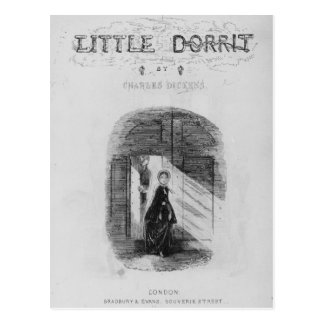 Frontispiece to 'Little Dorrit' by Charles Postcard