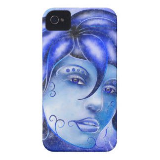 Frosinissia V1 - frozen face iPhone 4 Covers