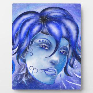 Frosinissia V1 - frozen face Plaque