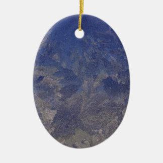 Frost 1 ceramic ornament