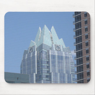 Frost Bank Building Austin, Texas Mouse Pad