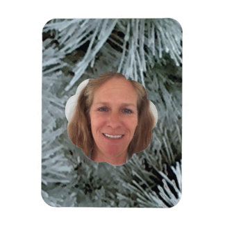 Frost Cloud Photo Frame Magnet
