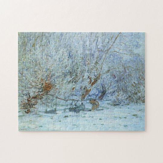Frost Monet Fine Art Jigsaw Puzzle