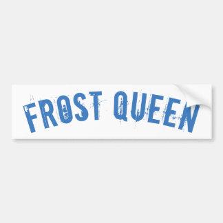Frost queen bumper sticker