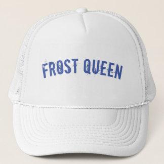 Frost queen trucker hat