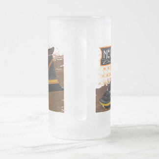 Frosted 16 oz Frosted Glass Mug