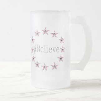 Frosted 16 oz Frosted Glass Mug art by JShao
