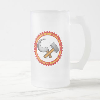 Frosted 16oz. Mug with Party Logo