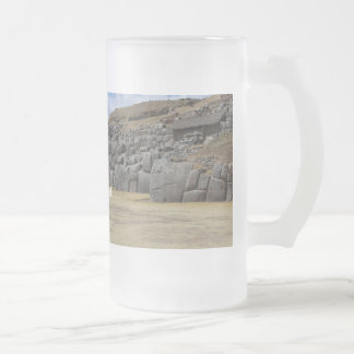 Frosted 473 ml Frosted Glass Mug
