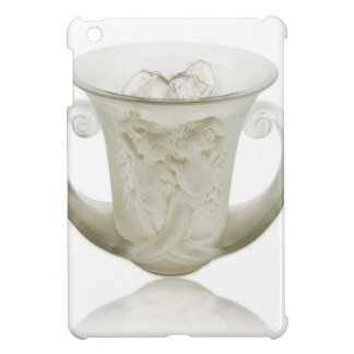Frosted Art Deco vase with two cherubs. Case For The iPad Mini