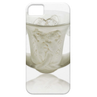 Frosted Art Deco vase with two cherubs. iPhone 5 Cases