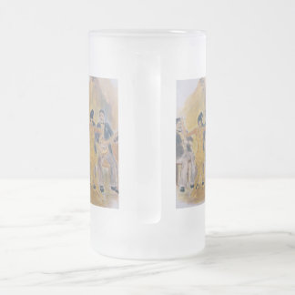 Frosted Beer Mug Roaring Twenties