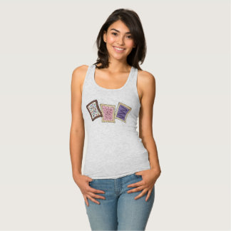 Frosted Breakfast Toaster Pastry Junk Food Foodie Singlet