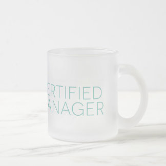 Frosted Certified Manager Mug